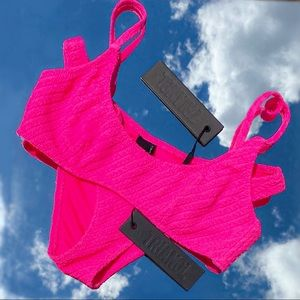TRIANGL Maci bikini in fuschia